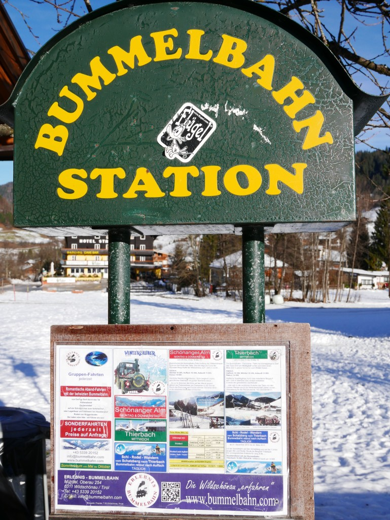 What is a Bummelbahn Station?