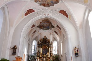 Niederau Church, Austria
