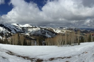 Skiing Canyons, Park City, Utah