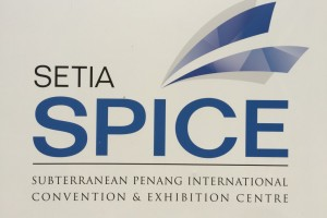 Possibly the most forced acronym ever – Subterranean Penang International Convention & Exhibition Centre (SPICE)