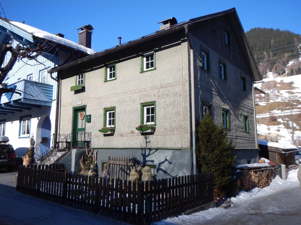 Oldest (most original?) house in St Anton, Austria?