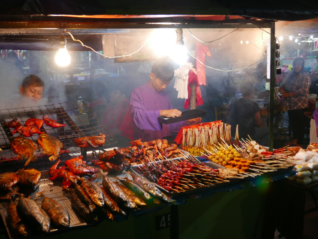 BBQ Food - sibu night market