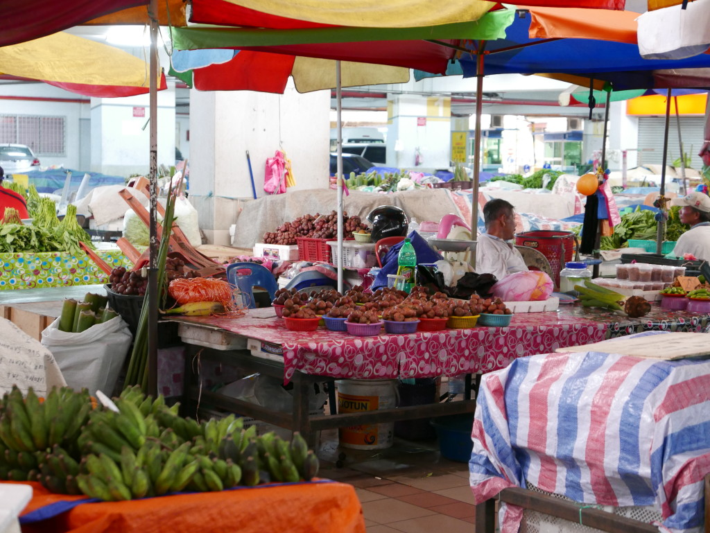 Sibu covered market