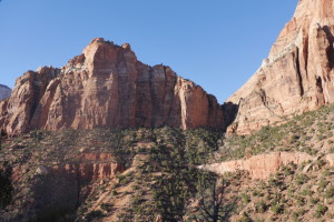 Driving from Zion Park to the East Exit