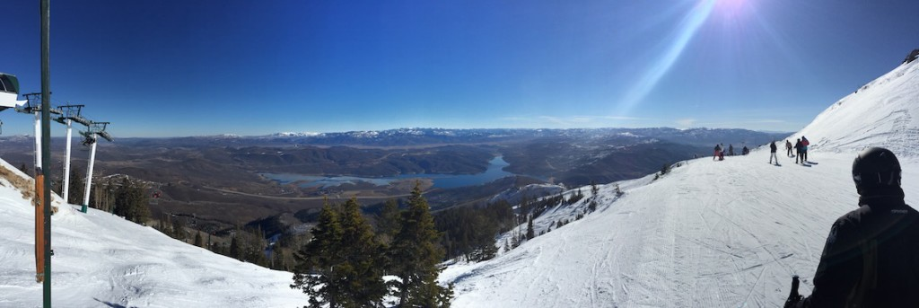 Panorama from the top of Deer Valley