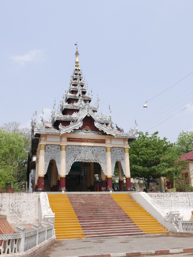 Start of the hike up Mandalay Hill