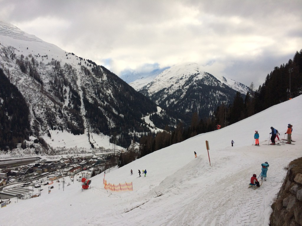 Flat Light and Low Cloud in St Anton