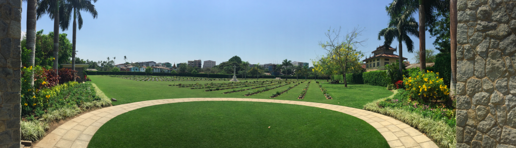 Panorama - Yangon/Rangoon War Cemetery