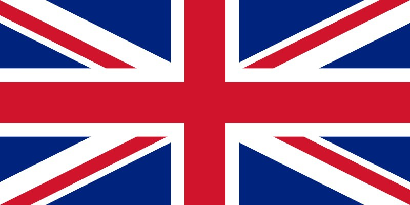 The British Flag - the Union Flag the correct way up