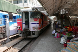 Riding the circular train in Yangon (Rangoon), Myanmar (Burma) – part 1 of 2