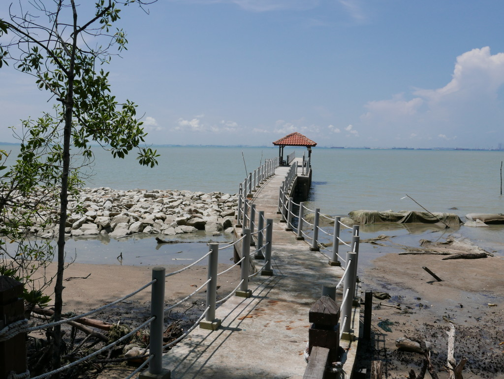 Fisherman's Jetty - Tanjung Piai National Park