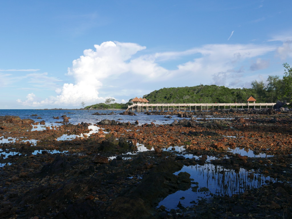 The cove next door to Tanjung Balau Beach