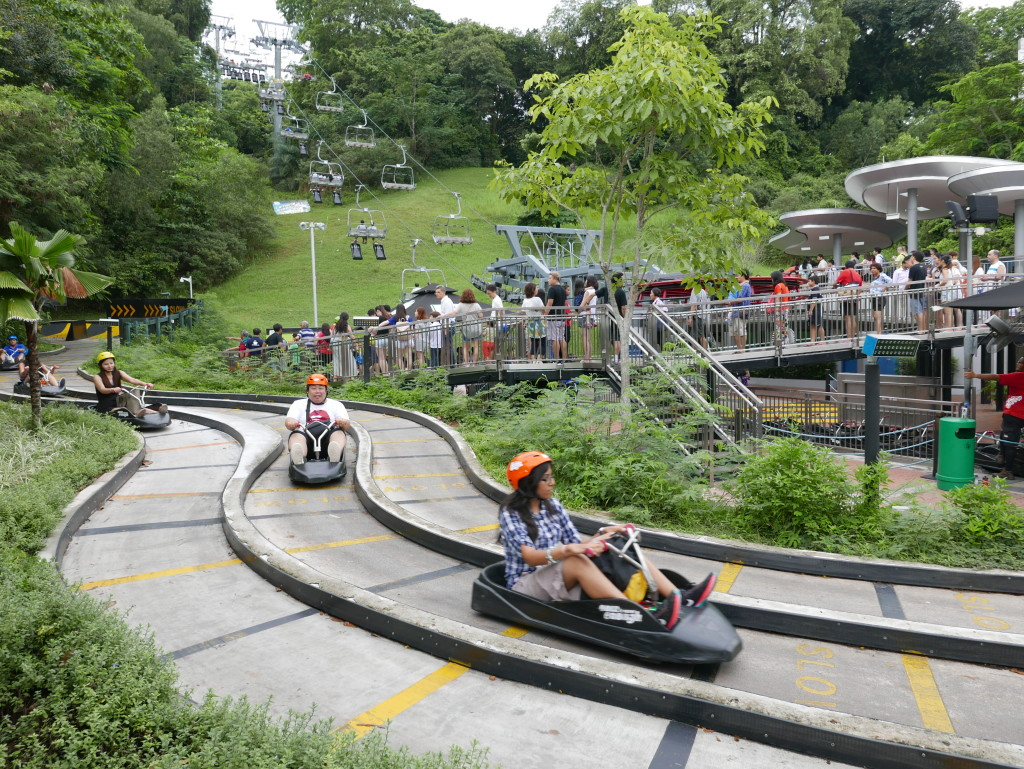 Chairlift and Carting - Sentosa Island, Singapore