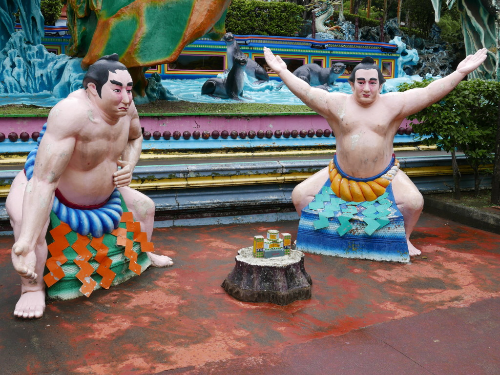 Sumo Wrestlers and Tiger Balm
