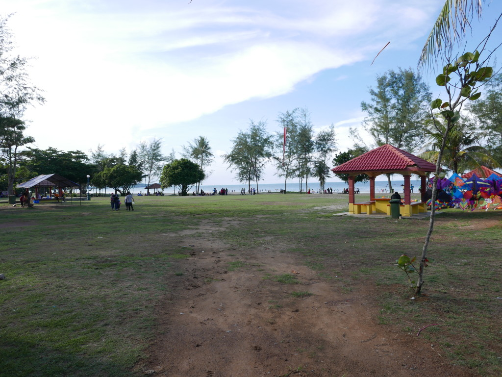 Path to Tanjung Balau Beach
