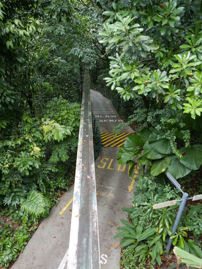 Start of the Imbiah Trail on Sentosa Island