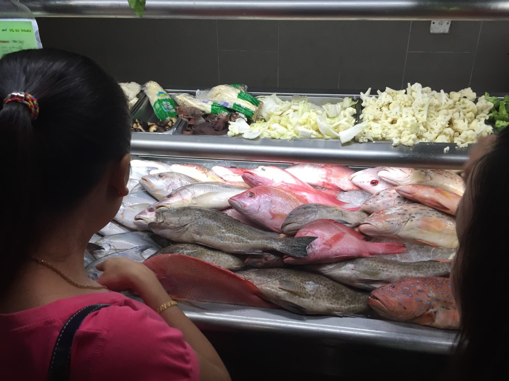 Pick your fish - Topspot Food Court