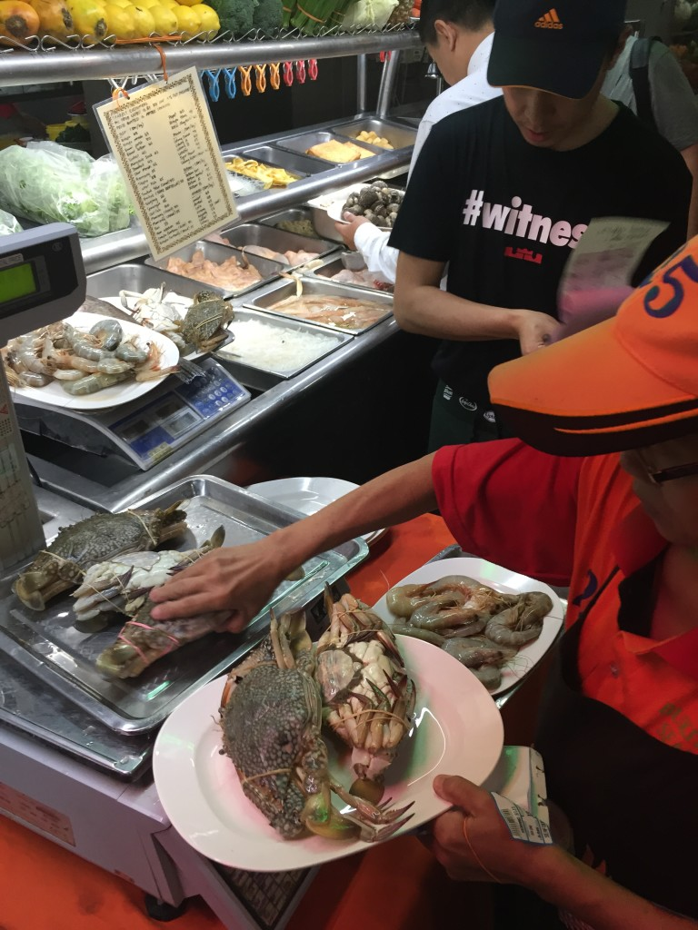 Select our crabs - Topspot Food Court