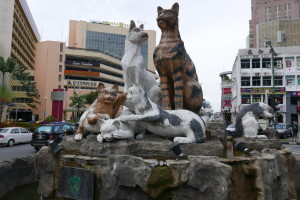 Cats of Kuching, Sarawak, Malaysia – what is it with Kuching and cats?