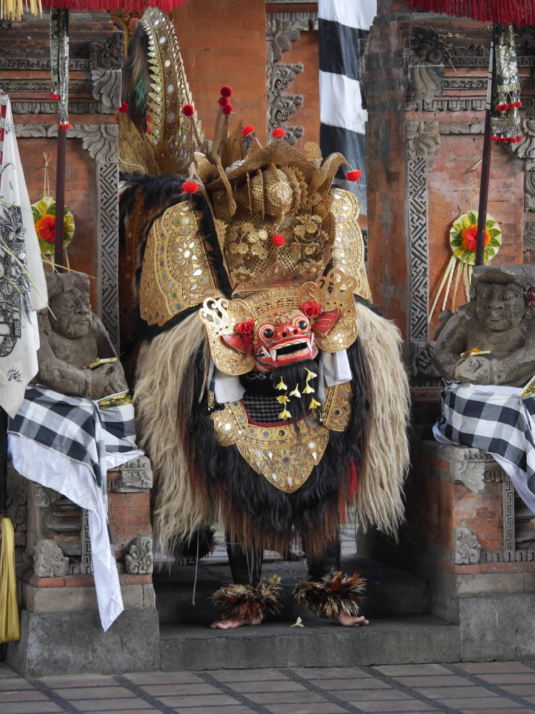 Barong - a lion-like creature and the king of spirits