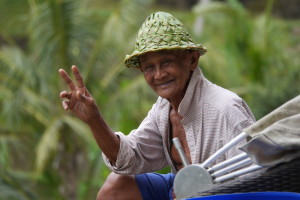 The people of Bali, Indonesia