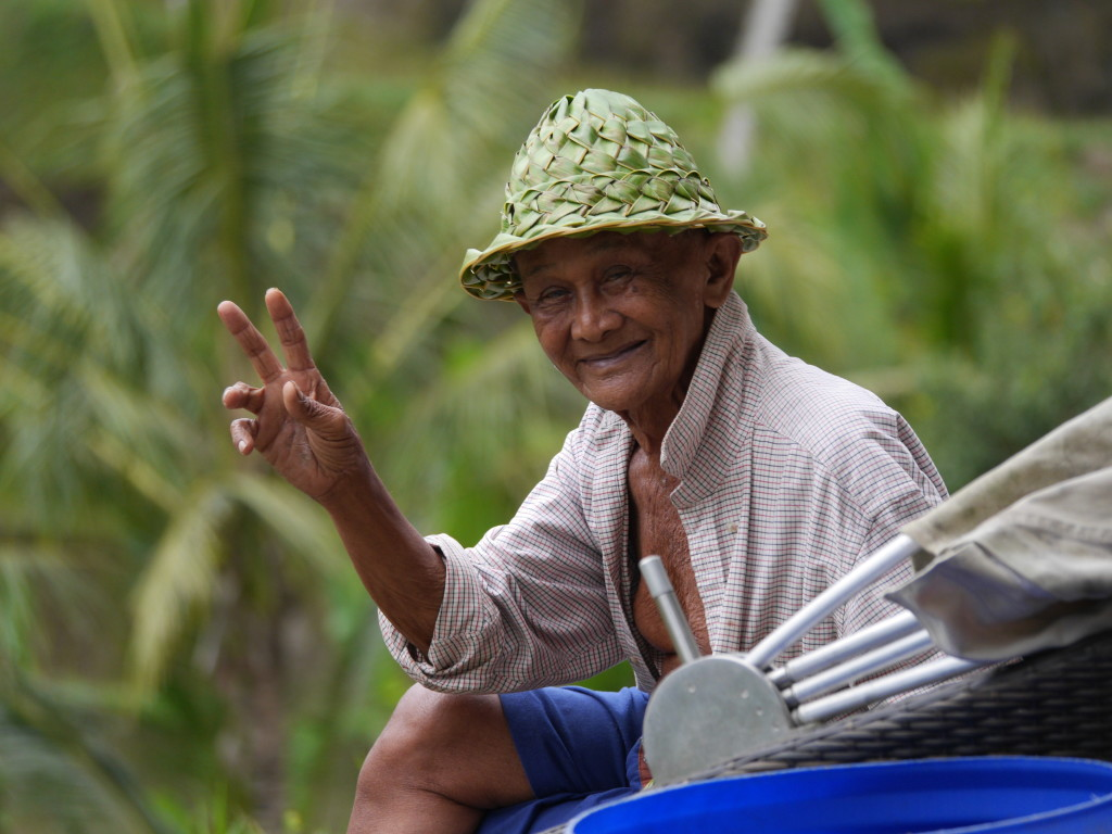 The people of Bali, Indonesia - local model