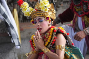 Sahadewa Barong And Kris Dance, Bali, Indonesia – part 2 of 3