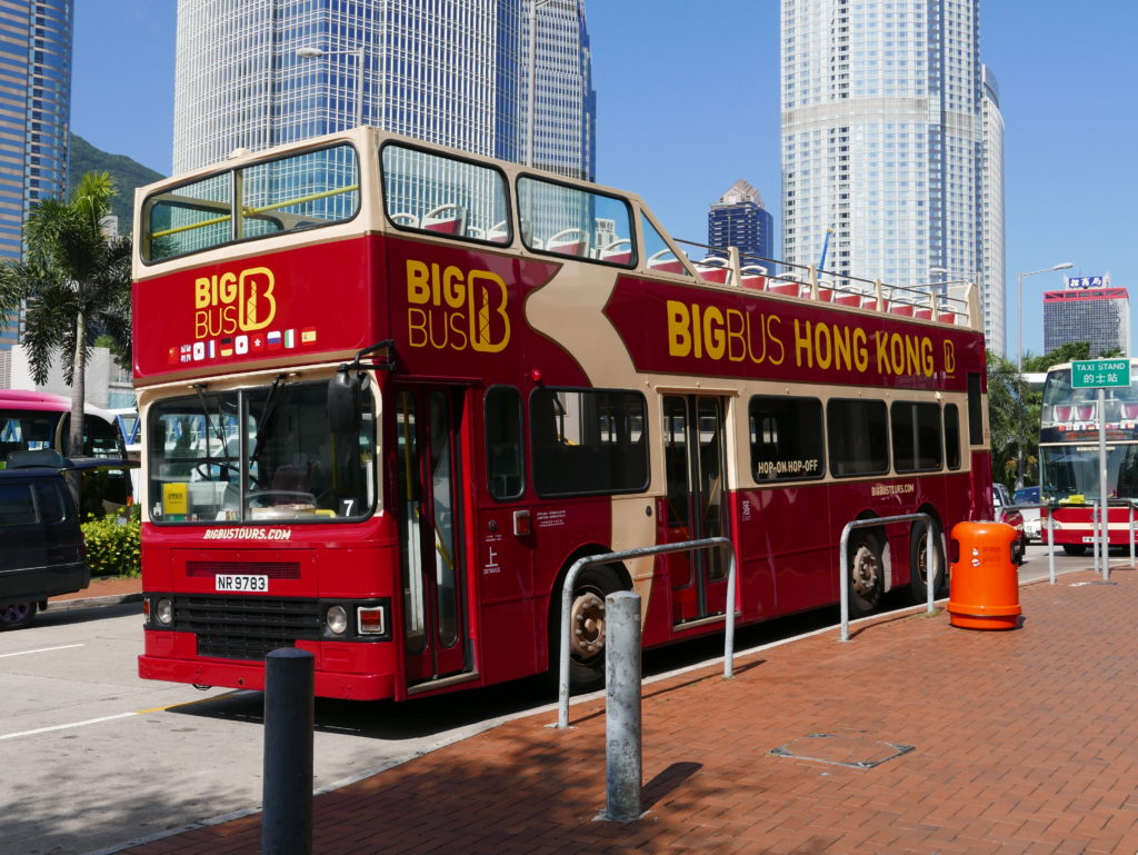 Big Bus Tour - Hong Kong Summary