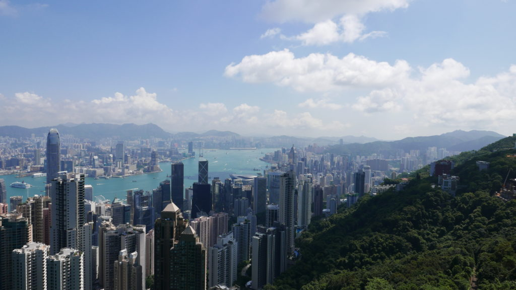 Victoria Peak and Victoria Harbour, Hong Kong
