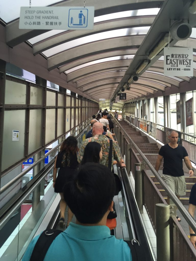 Central-Mid-Levels Escalator