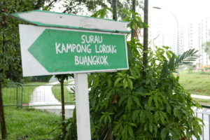 Kampong Lorong Buangkok, Singapore – the old Singapore?