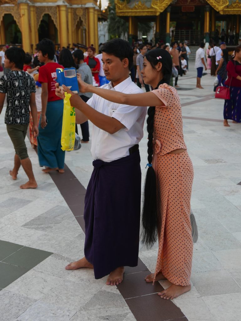 shwedagon pagoda 2017 hair