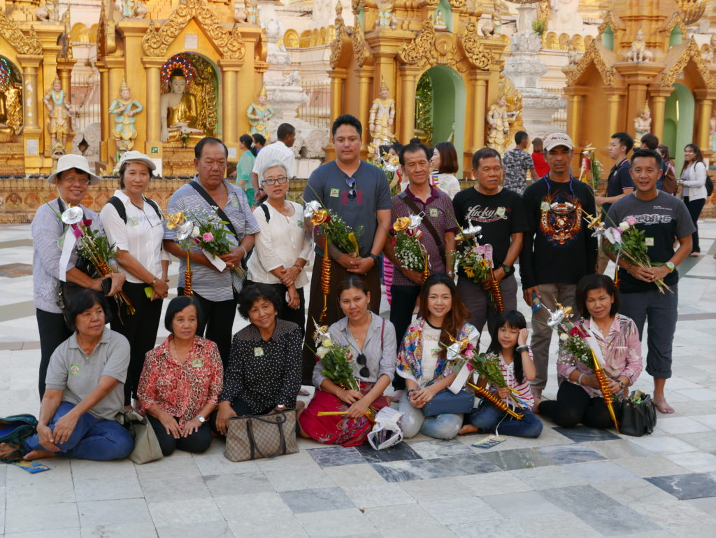 shwedagon pagoda 2017 visitors