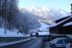Day 1: Dinner in Chamonix, France, and problems with parking