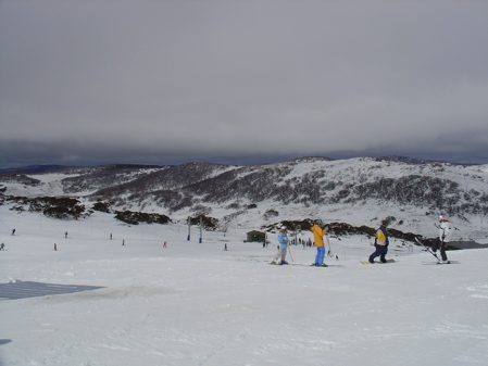 Skiing Falls Creek, Australia