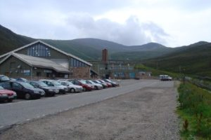 The Cairngorm ski area at Aviemore, Scotland