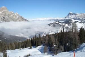 Day 7: Last day skiing Corvara, Italy – some new snow and sun