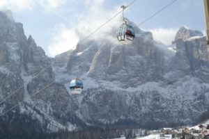 Day 6: Skiing Corvara and Colfosco, Italy