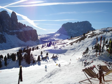 Perfect Conditions - skiing corvara