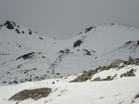 The Remarkables Ski Area - main lift