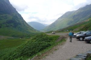 Glencoe and Fort William, Scotland – and some hitch-hikers