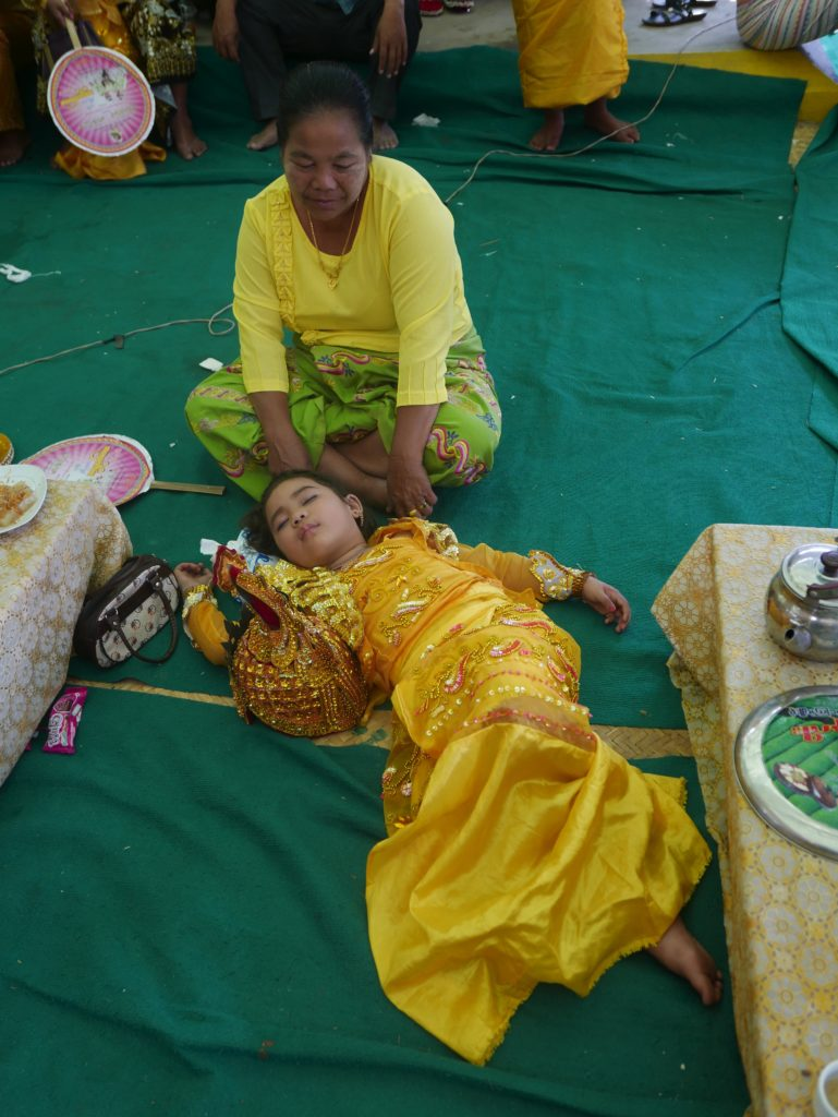 mandalay bike tour celebration sleep