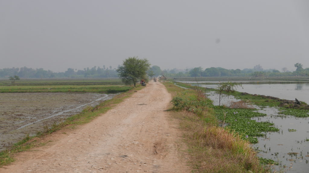 mandalay bike tour farm track