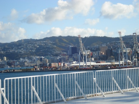 First view of Wellington