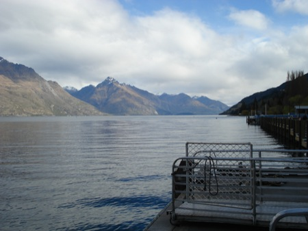 The lake - Queenstown, New Zealand