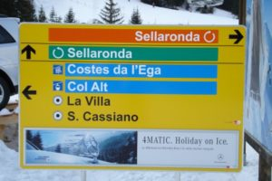 Day 4: Skiing the Sellaronda, Corvara, Alta Badia, Italy