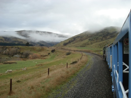 Train from Christchurch to Picton