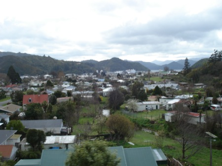 Arriving in Picton, South Island, New Zealand