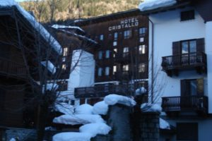 Day 1: Courmayeur and Chalethotel Cristallo, Italy