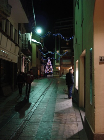 Courmayeur at Christmas
